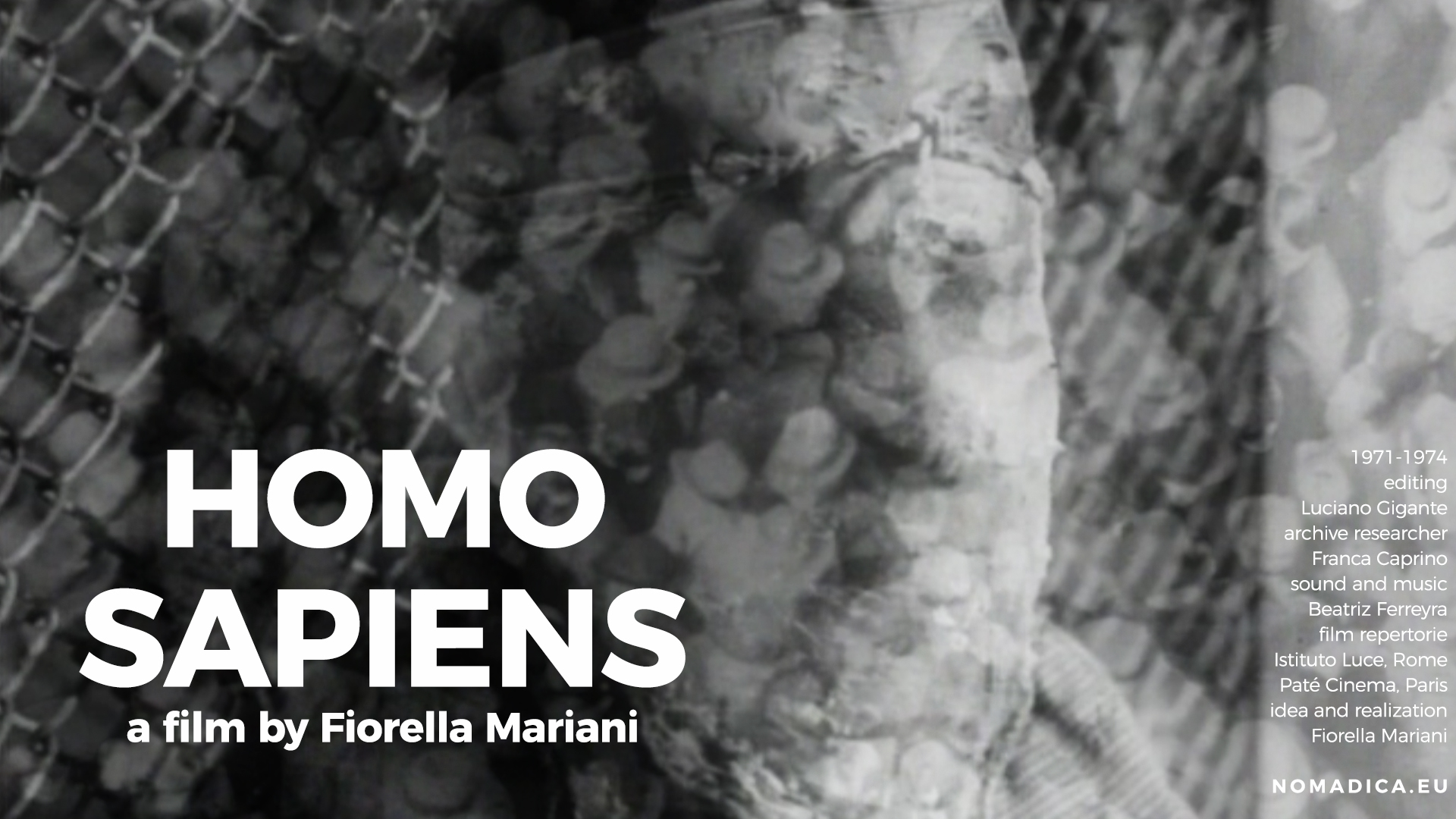 HOMO SAPIENS un film di Fiorella Mariani