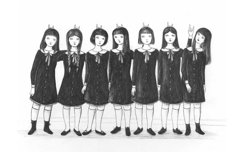 Nomadica presenta 10 disegni di virginia mori nomadica for Disegni tumblr da colorare