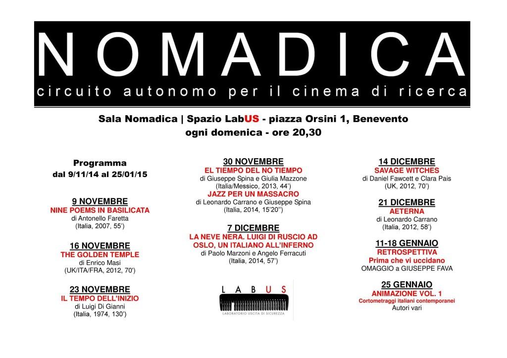 nomadica_benevento_programma